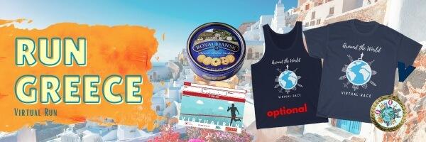 Run Greece Virtual Race registration logo