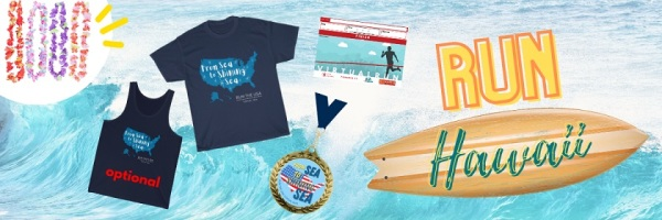 Run Hawaii Virtual Race registration logo
