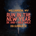 Run in the New Year 5k and 1 Mile Walk registration logo
