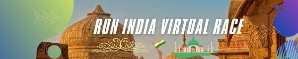 Run India Virtual Race registration logo
