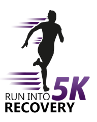 Run Into Recovery registration logo