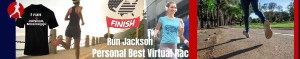 Run Jackson Virtual Race registration logo