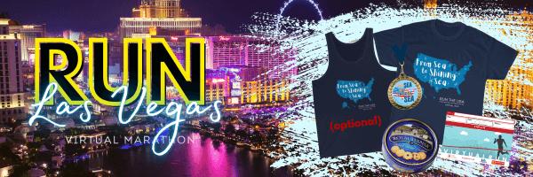 Run Las Vegas Virtual Race registration logo