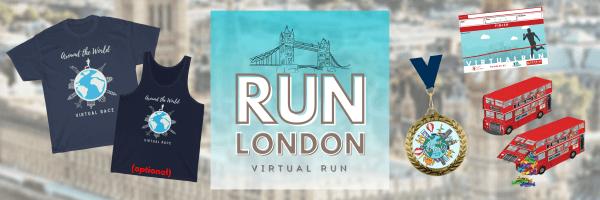 Run London Virtual Race 2021 registration logo