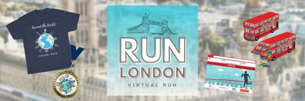 Run London Virtual Race registration logo