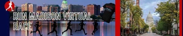 Run Madison Virtual Race registration logo