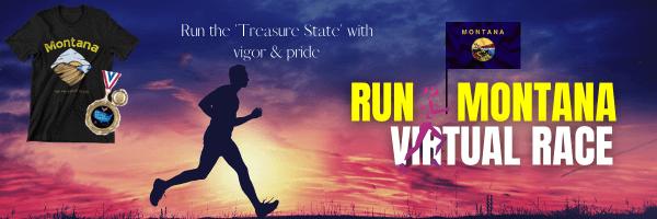 Run Montana Virtual Race registration logo