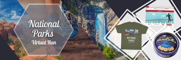 Run National Parks Virtual Race registration logo