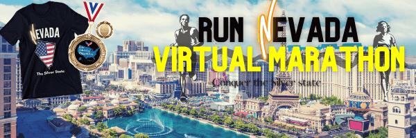 Run Nevada Virtual Marathon registration logo