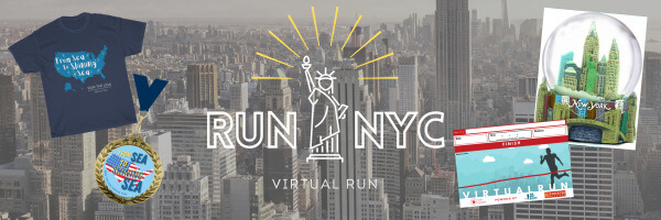 Run NYC Virtual Race registration logo