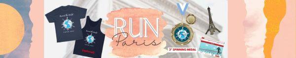 Run Paris Virtual Marathon 2021 registration logo
