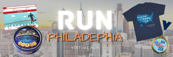 Run Philadelphia Virtual Race 5K/10K/Half-Marathon registration logo