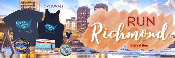Run Richmond Virtual Race registration logo