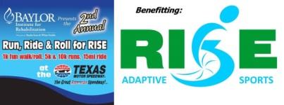 Run, Ride & Roll for RISE registration logo