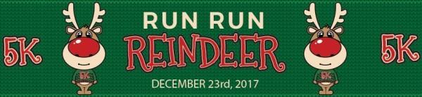 Run Run Reindeer registration logo