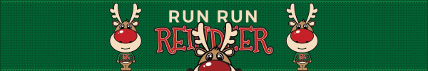 Run Run Reindeer registration logo
