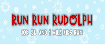 Run Run Rudolph 10K, 5K, & 1 Mile Kids Run- Brookhaven MS registration logo