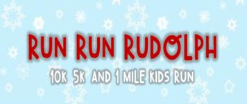 Run Run Rudolph 10K, 5K, & 1 Mile Kids Run- Brookhaven MS registration logo