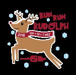 Run Run Rudolph 10K & 5K registration logo