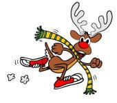 Run Run Rudolph Color 5K and 1 Mile Fun Run registration logo