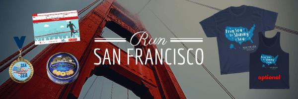 Run San Francisco Virtual Race 2021 registration logo