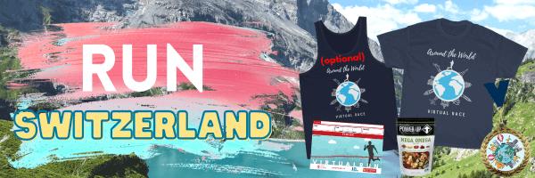 Run Switzerland Virtual Race registration logo