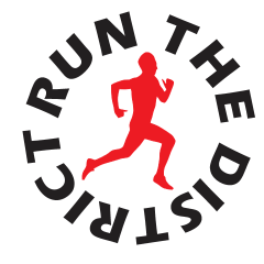 Run the District 5K/10K registration logo