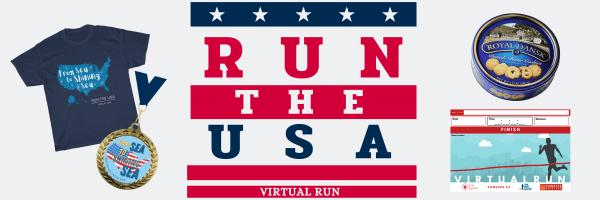 Run the US Virtual Race registration logo