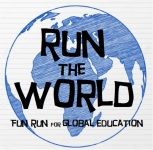 Run the World - Fun Run for Global Education registration logo