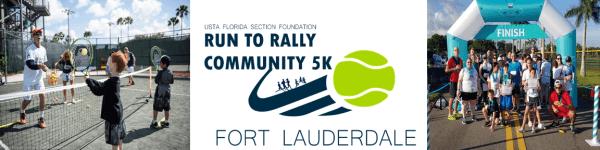Run to Rally Community 5K - Fort Lauderdale registration logo