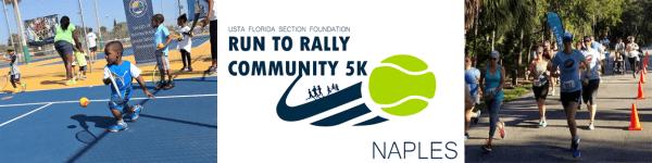 Run to Rally Community 5K - Naples registration logo