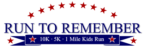 Run to Remember - 10k, 5k, & 1 Mile Kids Run registration logo