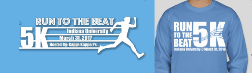 Run to the Beat 5K registration logo
