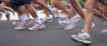 Run to the Tropical Heat registration logo