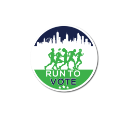 Run to Vote registration logo
