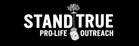 Run True Pro-life 5k Run/Walk registration logo