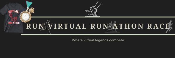 Run Virtual Run-athon Race registration logo