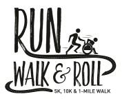 Run, Walk and Roll registration logo