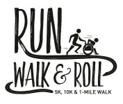 Run, Walk and Roll registration logo