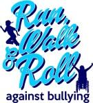 Run, Walk and Roll Against Bullying registration logo