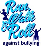 Run, Walk and Roll Against Bullying registration logo