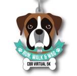 Run, Walk and Wag Virtual 5K  registration logo
