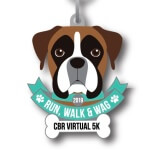 Run, Walk and Wag Virtual 5K  registration logo