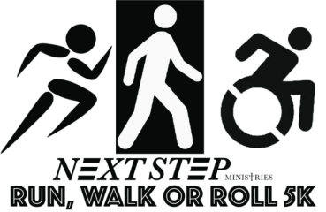 Run, Walk or Roll 5K registration logo