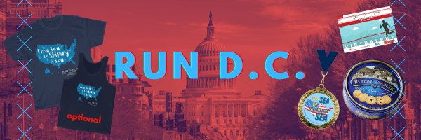 Run Washington D.C. Virtual Race registration logo