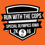 Run With the Cops 5K - Benefit for Special Olympics registration logo