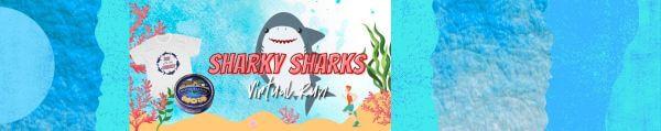 Run with the Sharks Virtual Run registration logo