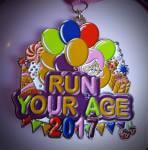 Run Your Age registration logo