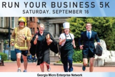 Run Your Business 5K registration logo