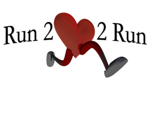 Run2LOVE2Run registration logo